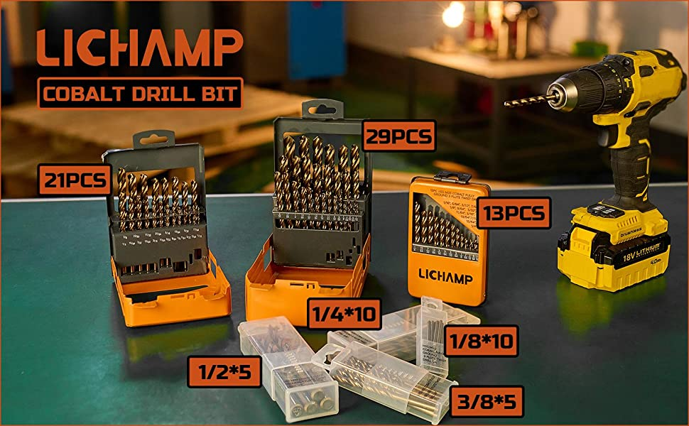 lichamp drill bits