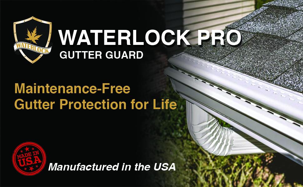 waterlock pro gutter system
