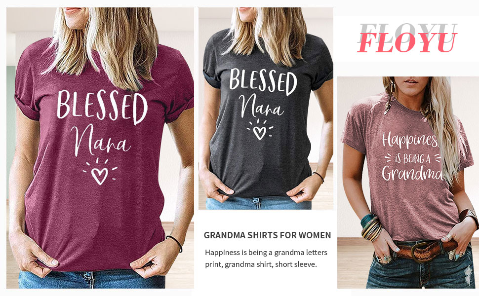 Happiness is Being A Grandma Tshirt