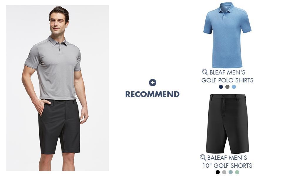 baleaf mens golf clothes cga005