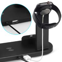 4 in 1 charging station for apple
