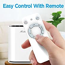 easy control with remote