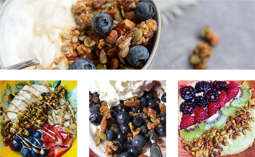 low carb breakfast keto desserts keto treats keto maple granola low carb snacks keto granola