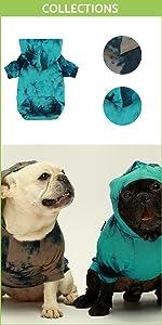 Tie Dye Dog Hoodie B09CYHJGR6