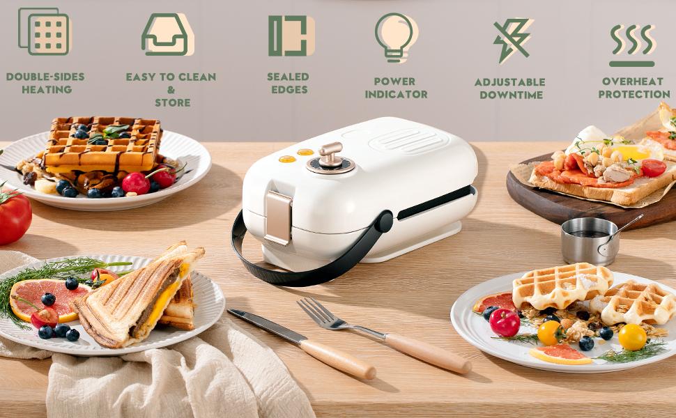 sanwich maker waffle maker