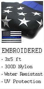 VSVO US Blue Line Flags