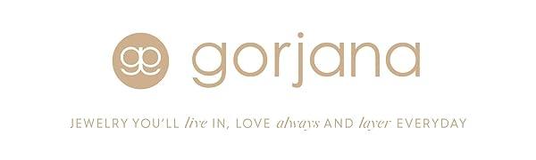 Gorjana jewelry logo