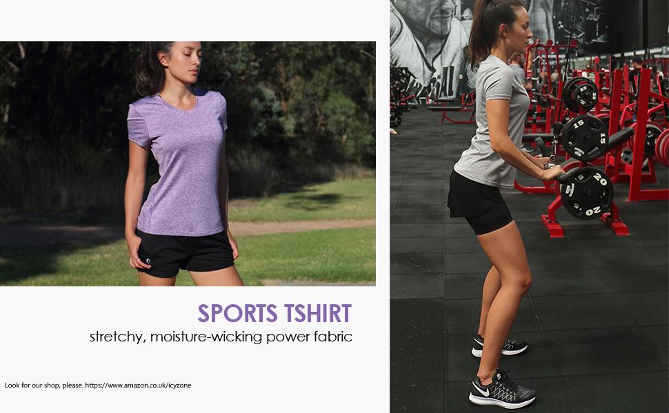 women sport tshirt