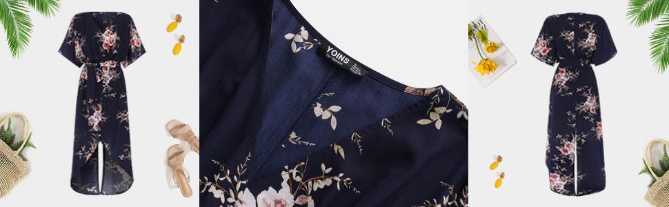 womens summer causal maxi dress