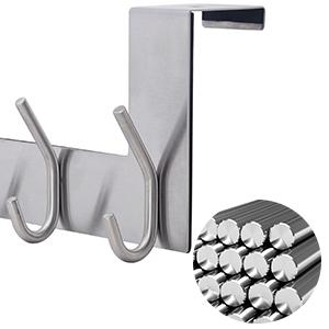 Stainless Steel Over The Door Hook