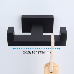wide spacing between hooks