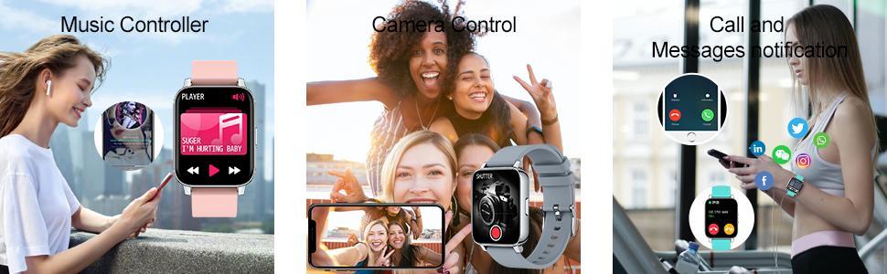 Smart Watch Fitness Tracker for Men Women
