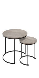 Nesting Coffee Table Set of 2