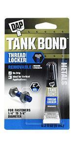 Tank Bond Removable Threadlocker
