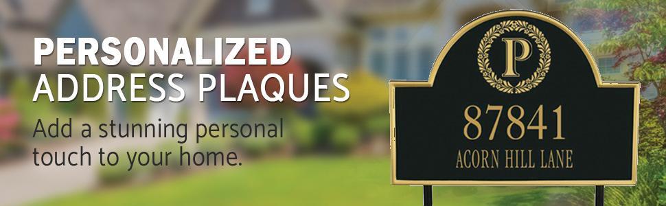 Address Plaque Banner