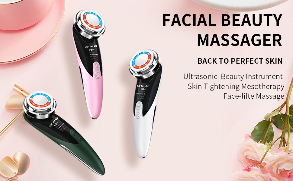 facial beauty massager