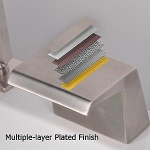deck mount tub faucet