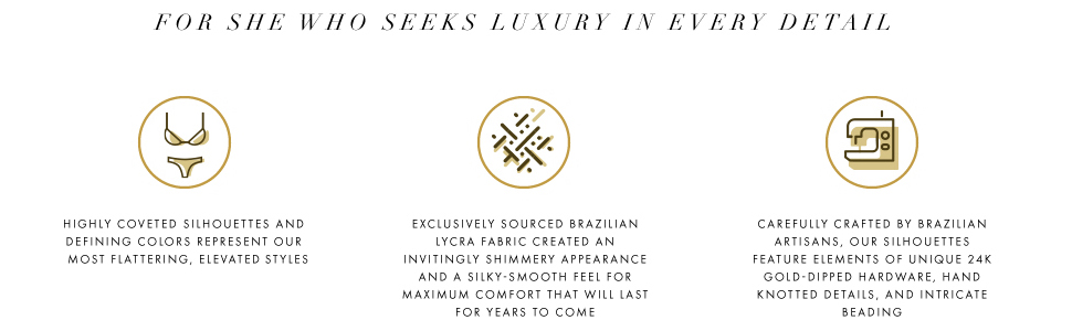 for she who seeks luxury in every detail