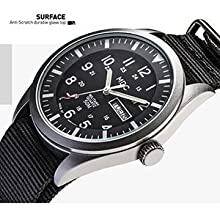 Military Watches Men Tactical Wrist Watch Waterproof Outdoor Field Black Analog Army Casual Work
