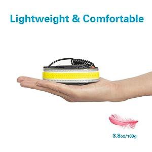 headlamp headlight head lamp light flashlight portable case pouch bright led camping camp runner