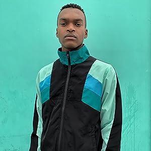 full zip track jacket windbreaker