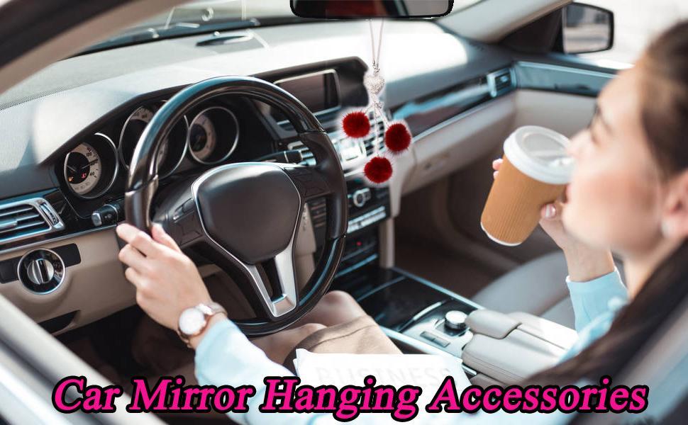 car mirror hanging accessories