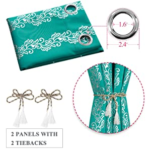 2 panels per package