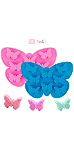 butterfly mold ice cube gummy mold candy candle wax soap