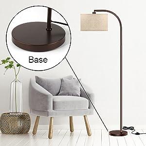 tall pole floor lamp