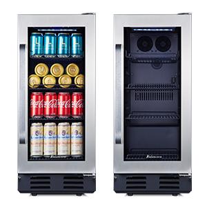 small wine fridge