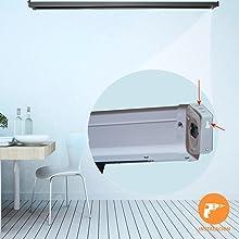 instalacion a pared o a techo pantalla tensionada, pantalla tensionada proyector