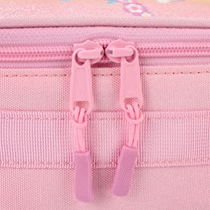 Sturdy Double Zippers