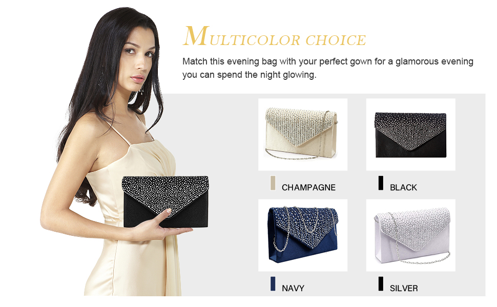 Women Evening Clutch Bags Party Clutches Wedding Purses