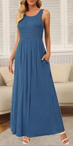 womens smocked dress