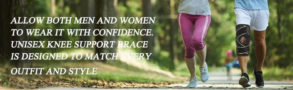 Allow both men and women to wear it with confidence