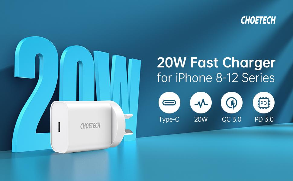 20w fast usb c charger