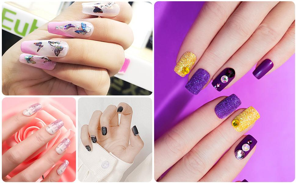 nail stickers for acrylic nails