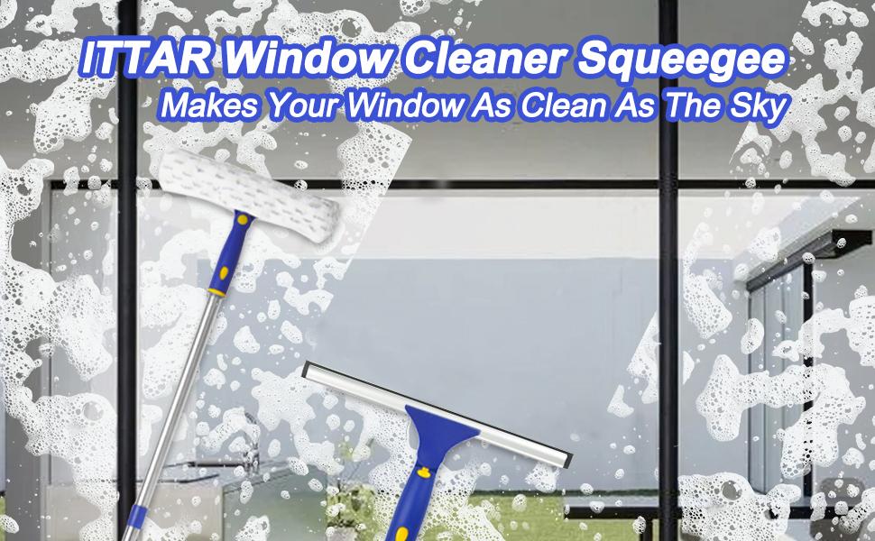ITTAR Window Window Cleaning Kit