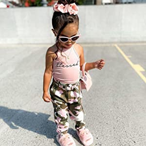 little girls clothes summer outfit
