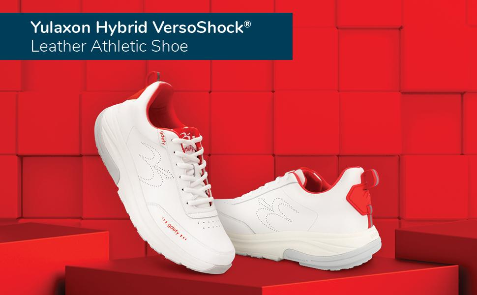 GDEFY Yulaxon Hybrid VersoShock Leather Athletic Shoes