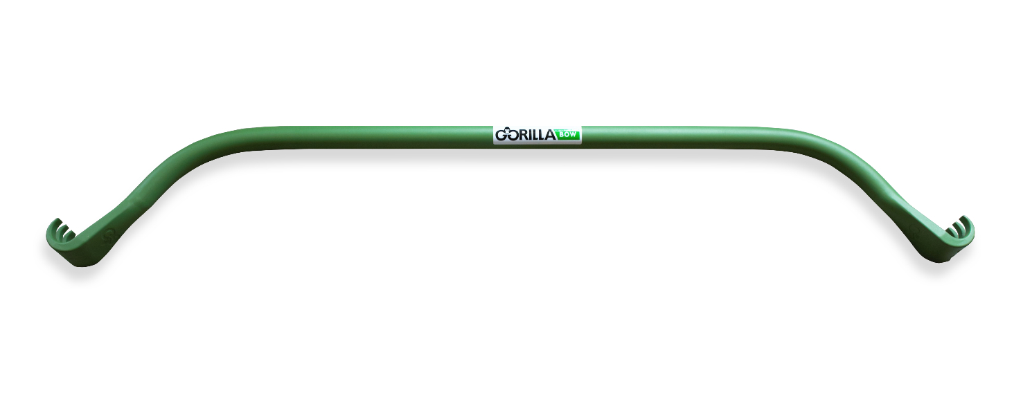 Gorilla Bows are constructed using aircraft-grade aluminum