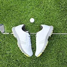 White Golf Shoes Spikes