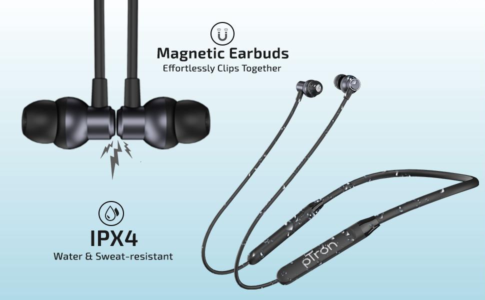 Wireless earphones with mic