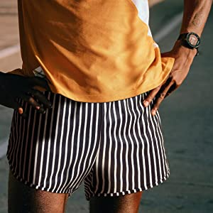 mens 3 inch running shorts with liner