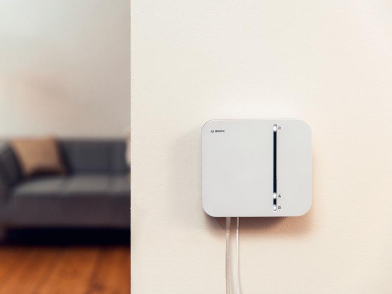 Bosch Smart Home Controller installed in a flat