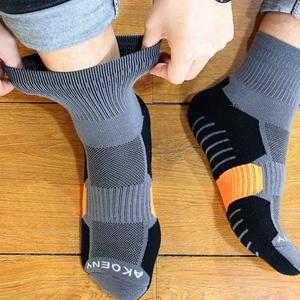 athletic ankle quarter socks for men