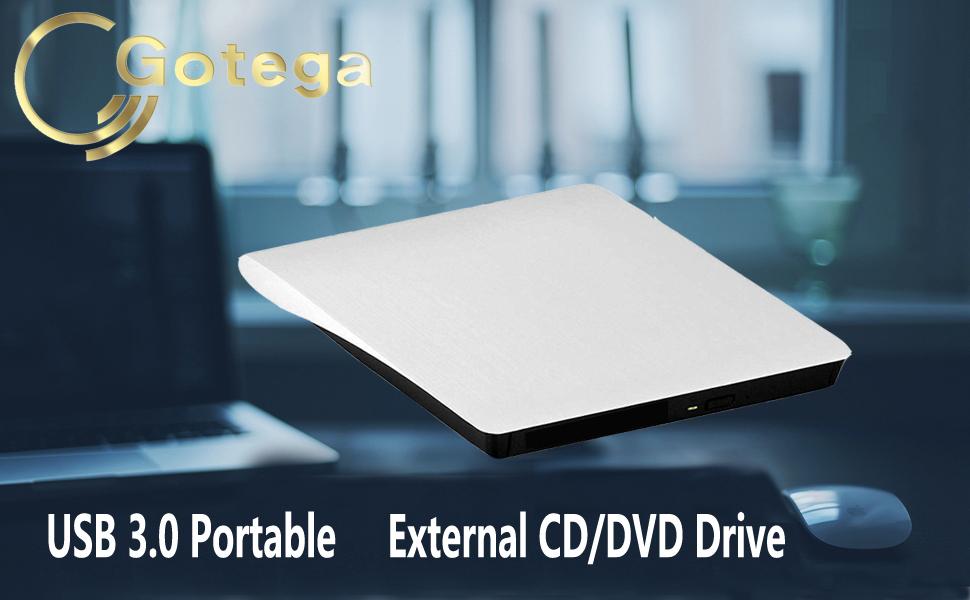 external cd/dvd drive for laptop
