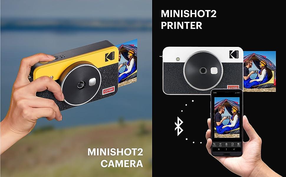 kodak photo printer camera c210r polaroid instant camera 4pass technology dye sublimation