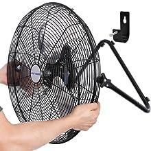 20 inch High Velocity fan