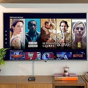 smart box; smart; netflix; séries; android tv